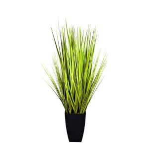 Artificial Real Touch Decorative Grass Plant in Black Planter 90 cm