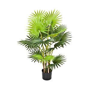 Artificial 95cm Fan Finger Palm Tree in Pot