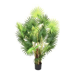 Artificial 120cm Finger Fan Palm Tree in Pot