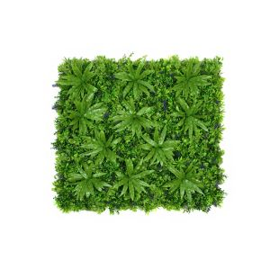 Artificial Premium Green Wall Hedge with Mixed Leaf Foliage (1m x 1m)