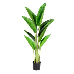 Artificial 120cm Real Touch Bird of Paradise Tree in Pot