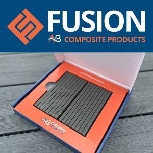 AB Fusion Woodgrain Composite Decking Sample Pack