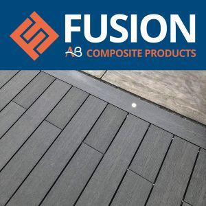 AB Fusion Woodgrain Composite Decking Boards