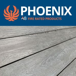 AB Phoenix Fire Proof A1 Rated Non-Combustible Decking Boards
