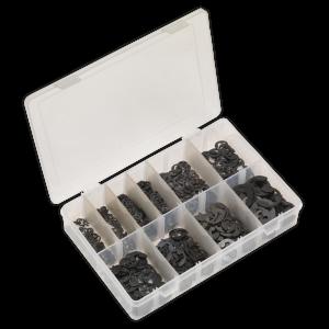 Sealey E-Clip Retainer Assortment 800pc Imperial