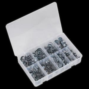 Sealey Mini Hose Clip Assortment 100pc