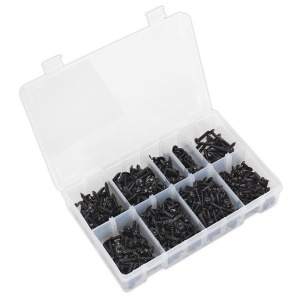 Sealey Self Tapping Screw Assortment 700pc Flanged Head BS 4174