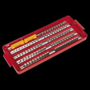 """Sealey Socket Rail Tray 1/4"""", 3/8"""" & 1/2""""Sq Drive AK272"""