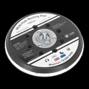 "Sealey Universal Dust-Free Stick-On DA Backing Pad Ø150mm x 5/16""UN"