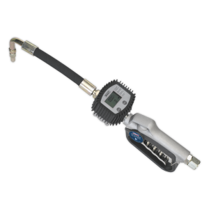 Sealey Oil Hose End Gun with Digital Meter