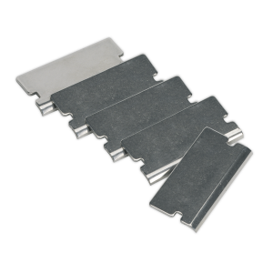 Sealey Angled Razor Blade for AK52507, AK52504, VS500 Pack of 5