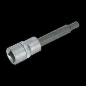 "Sealey Hex Socket Bit 7mm Long 1/2""Sq Drive"