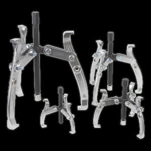 Sealey Gear Puller Set 4pc Triple Leg