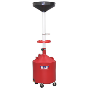 Sealey Mobile Oil Drainer 80L Gravity Discharge
