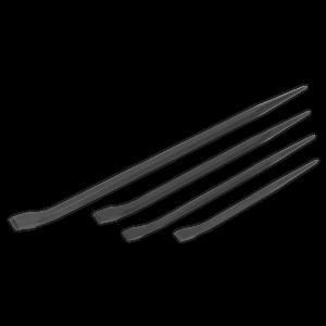 Sealey Pry Bar Set 4pc 300, 400, 450, 600mm