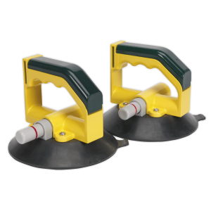 Sealey Vacuum Suction Cup 150mm - Pair