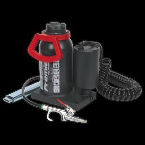 Sealey Bottle Jack 20tonne Manual/Air Hydraulic