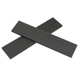 AB Fusion Woodgrain Composite Skirting Boards Anthracite