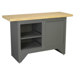 Sealey Workbench with Cupboard Heavy-Duty