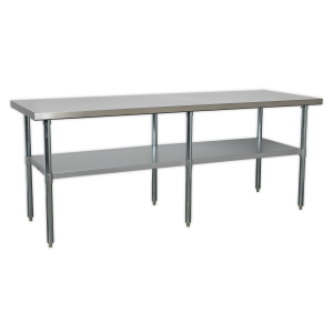 Sealey Stainless Steel Workbench 2.1m