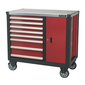 Sealey Mobile Workstation 8 Drawer with Ball Bearing Slides