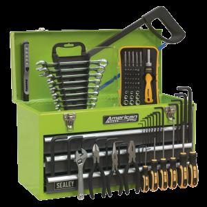 Sealey Portable Tool Chest 3 Drawer with Ball Bearing Slides - Hi-V