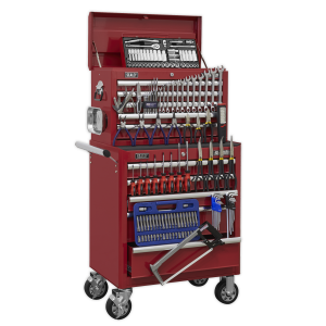 Sealey Topchest & Rollcab Combination 10 Drawer with Ball Bearing S