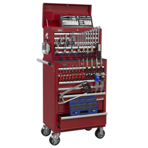 Sealey Topchest & Rollcab Combination 15 Drawer with Ball Bearing S