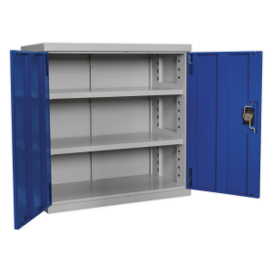 Sealey Industrial Cabinet 2 Shelf 900mm