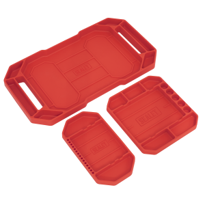 Sealey Flexible Tool Trays Non-Slip - Pack of 3