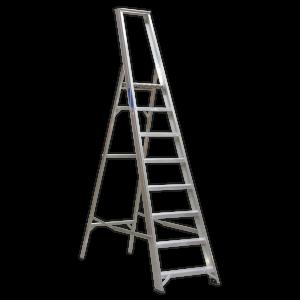 Sealey Aluminium Step Ladder 8-Tread Industrial BS 2037/1