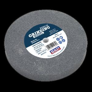 Sealey Grinding Stone Ø200 x 25mm Ø16mm Bore A36Q Coarse