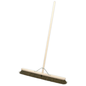 "Sealey Broom 36""(900mm) Stiff/Hard Bristle"