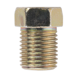 Sealey Brake Pipe Nut M10 x 1mm Full Thread Male Pack of 25