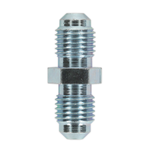"""Sealey Brake Tube Connector 3/8""""UNF x 24tpi Male to Male Pack of 10"""