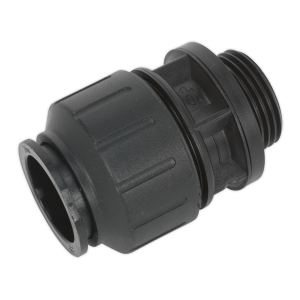 "Sealey Straight Adaptor 28mm 1""BSP Pack of 2 (John Guest Speedfit®"