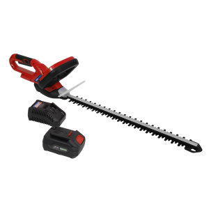 Hedge Trimmer Cordless 20V with 4Ah Battery & Charger
