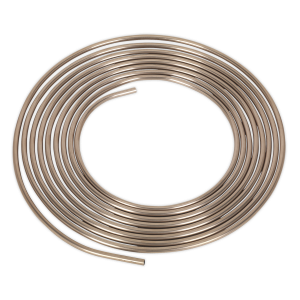 "Sealey Brake Pipe Seamless Tube Cupro-Nickel 22 Gauge 5/16"" x 25ft"