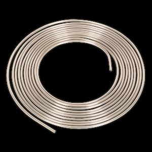 "Sealey Brake Pipe Seamless Tube Cupro-Nickel 22 Gauge 3/16"" x 25ft"