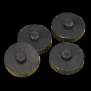 Sealey Anti-Vibration Foot Kit 4pc