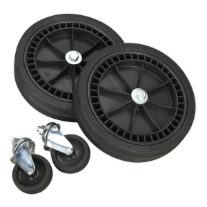 Sealey Wheel Kit for Fixed Compressors - 2 Castors & 2 Fixed