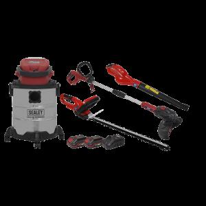 Garden Power Tool Kit 20V - 2 Batteries