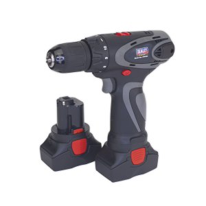 Sealey Cordless Drill/Driver Ø10mm 14.4V 2Ah Lithium-ion 10mm 2-Spe