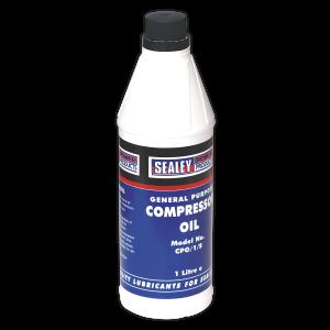 Sealey Compressor Oil 1L