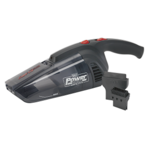 Sealey Vacuum Cleaner Cordless Wet & Dry Rechargeable 7.2V