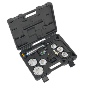 Sealey Cooling System Pressure Test Kit 7pc - Commercial