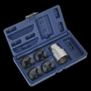 Sealey Reverse Action Wheel Stud Thread Restorer Kit - Commercial