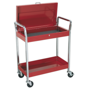 Sealey Trolley 2-Level Heavy-Duty with Lockable Top