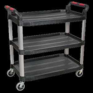 Sealey Workshop Trolley 3-Level Composite CX310