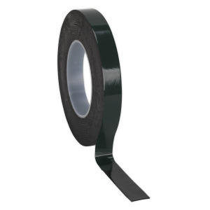Sealey Double-Sided Adhesive Foam Tape 19mm x 10m Green Backing